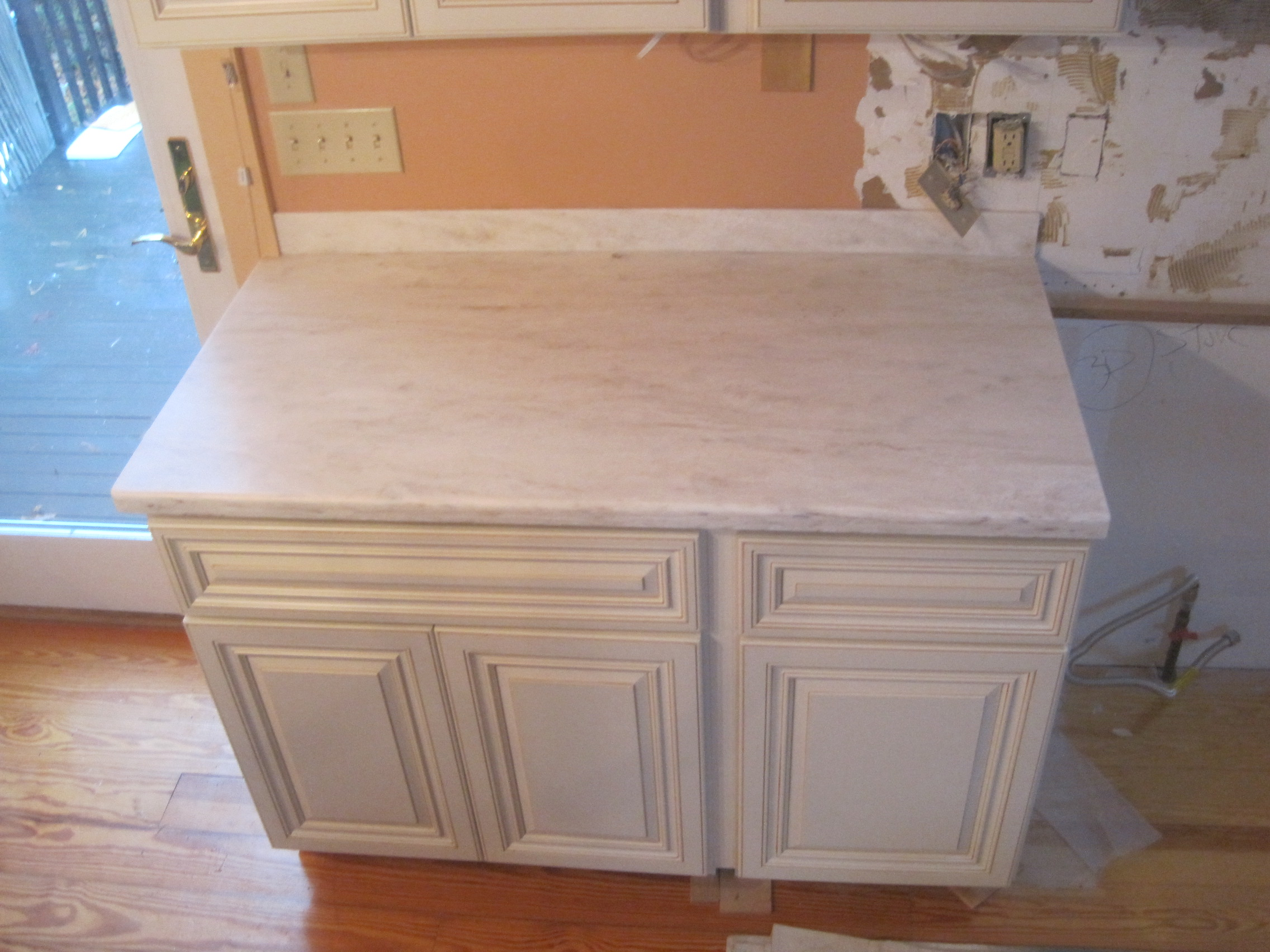 how to get sharpie off corian countertop