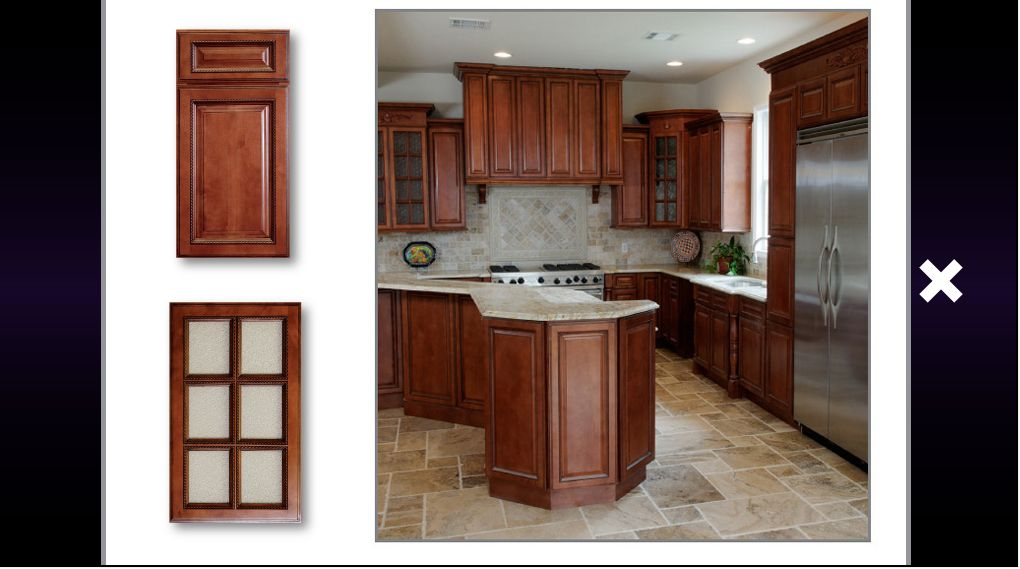 Kitchen Cabinets Sienna Rope